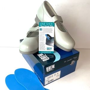 DREW Womens Mary Jane Bloom II Shoes Diabetic 9.5W